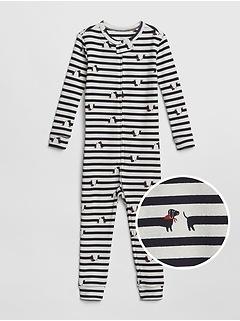babyGap Dog Stripe One-Piece