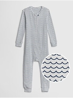 babyGap Organic Cotton Waves One-Piece