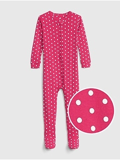 babyGap Dot Footed One-Piece
