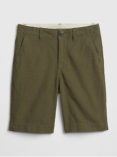 Kids Seersucker Everyday Shorts