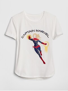 GapKids| Marvel© Graphic Short Sleeve T-Shirt