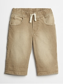 Kids Khaki Pull-On Shorts