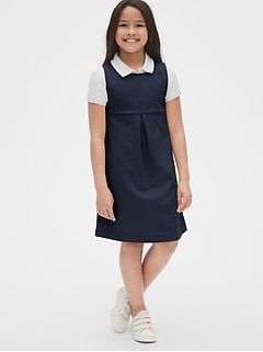 Kids Uniform Sleeveless Jumper