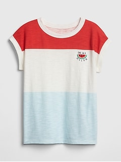 Kids Graphic Dolman-Sleeve T-Shirt