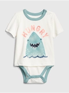 Baby Shark Short Sleeve Body Double