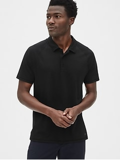 GapFit Breathe Pique Polo Shirt
