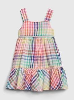 01f34a02ba Baby Plaid Tank Dress