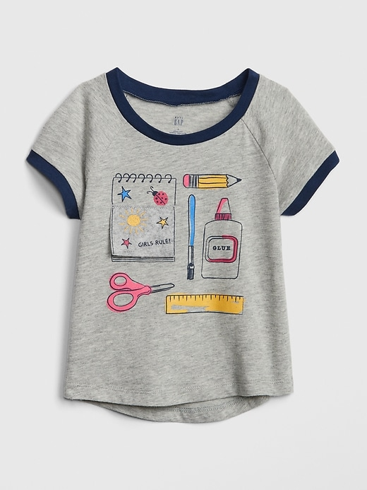 Toddler Graphic Short Sleeve T-Shirt