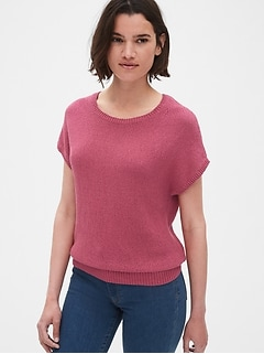 Dolman Sleeve Crewneck Sweater