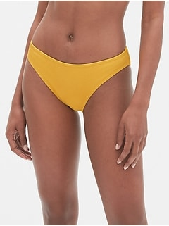 Ribbed Classic Bikini Bottom