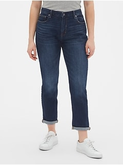 Mid Rise Girlfriend Jeans With Washwell™