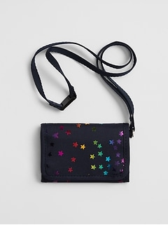 Kids Star Foil Wallet