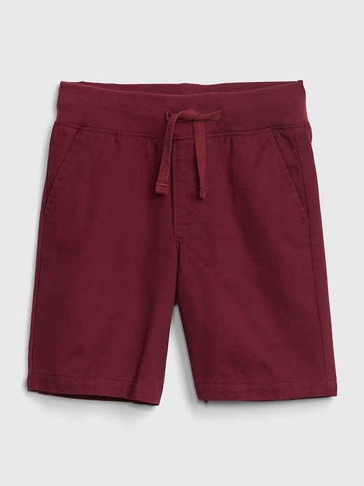Toddler Pull-On Khaki Shorts