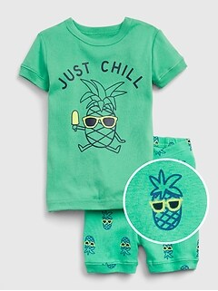 babyGap Pineapple Short PJ Set