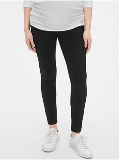 Maternity Full Panel Ponte Leggings