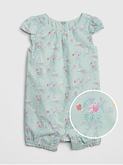 Baby Floral Shorty One-Piece