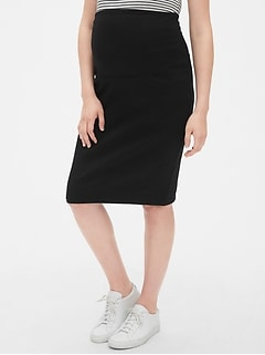 Maternity Full Panel Pencil Skirt