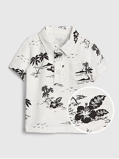Baby Print Short Sleeve Shirt