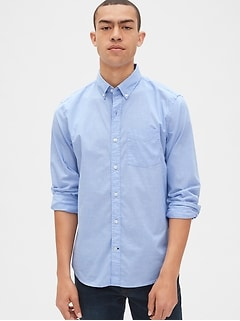Lived-In True Wash Poplin Shirt