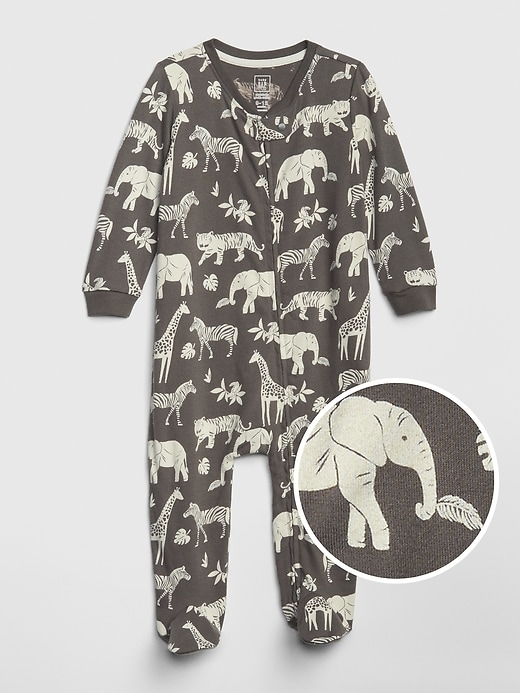 Baby Organic Cotton Footed One-Piece