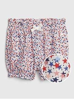 Baby Print Bubble Shorts