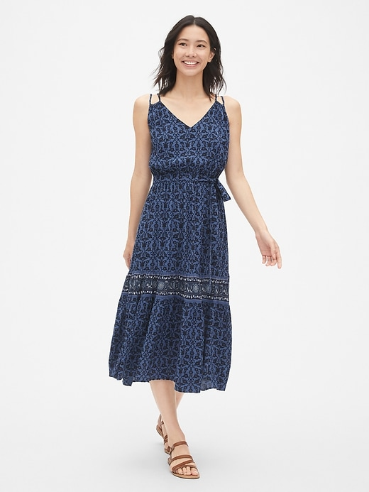 Strappy Boho Dress by Gap