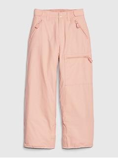 Kids Fleece-Lined Snow Pants