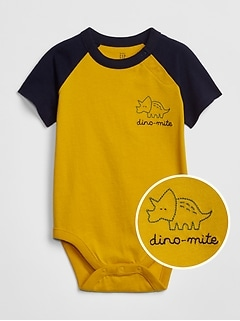 Baby Graphic Raglan Bodysuit