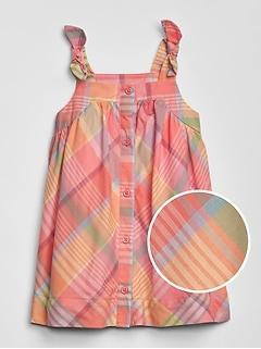 Baby Plaid Tank Dress