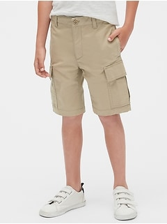 Kids Uniform Cargo Shorts with Gap Shield