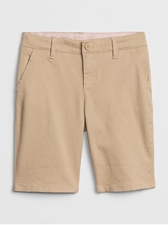 Kids Uniform Bermuda Shorts with Gap Shield