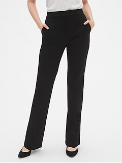 High Rise Slim Boot Pants
