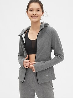 GapFit All Elements Fleece Full-Zip Hoodie