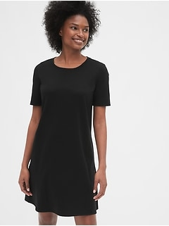 Maternity Side-Zip Nursing Dress in Ponte