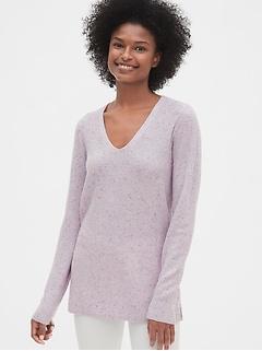 True Soft Textured V-Neck Sweater