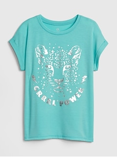 GapFit Kids Graphic Short Sleeve T-Shirt