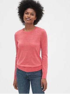 Crewneck Sweater in Merino Wool