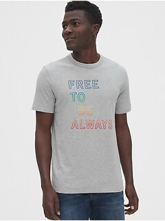Gap + Pride Graphic Crewneck T-Shirt