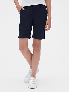 582f890614 Kids Uniform Bermuda Shorts with Gap Shield
