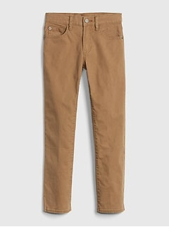 Kids Skinny Canvas Khakis