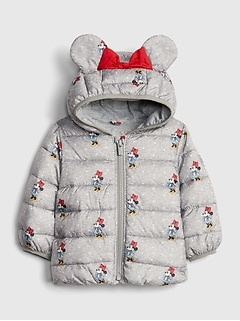 babyGap | Disney Minnie Mouse ColdControl Puffer