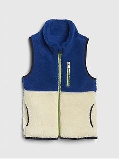 Toddler Sherpa Vest