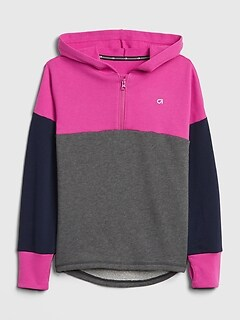 GapFit Kids Colorblock Hoodie Sweatshirt
