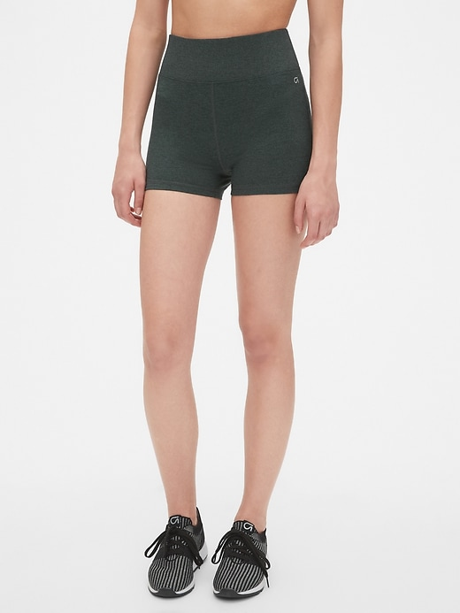 GapFit High Rise Brushed Tech Jersey Yoga Shorts