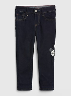 babyGap | Disney Mickey Mouse Slim Jeans with Fantastiflex
