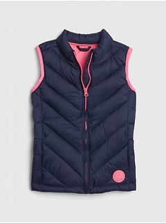 Kids ColdControl Lightweight Puffer Vest