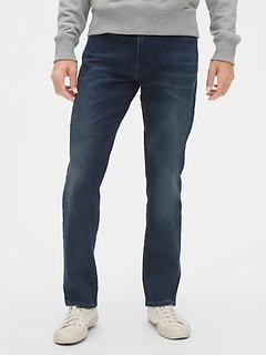 Soft Wear Straight Jeans with GapFlex
