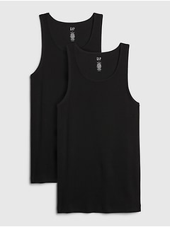 Ribbed Tank Top (2-Pack)
