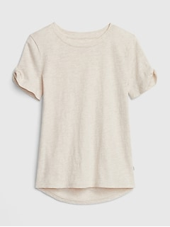 Kids Knot-Sleeve T-Shirt