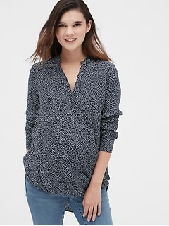 Maternity Wrap Shirt